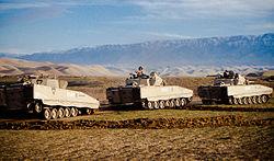 Norwegian CV9030 in Afghanistan