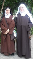 Nuns in different parts of the world