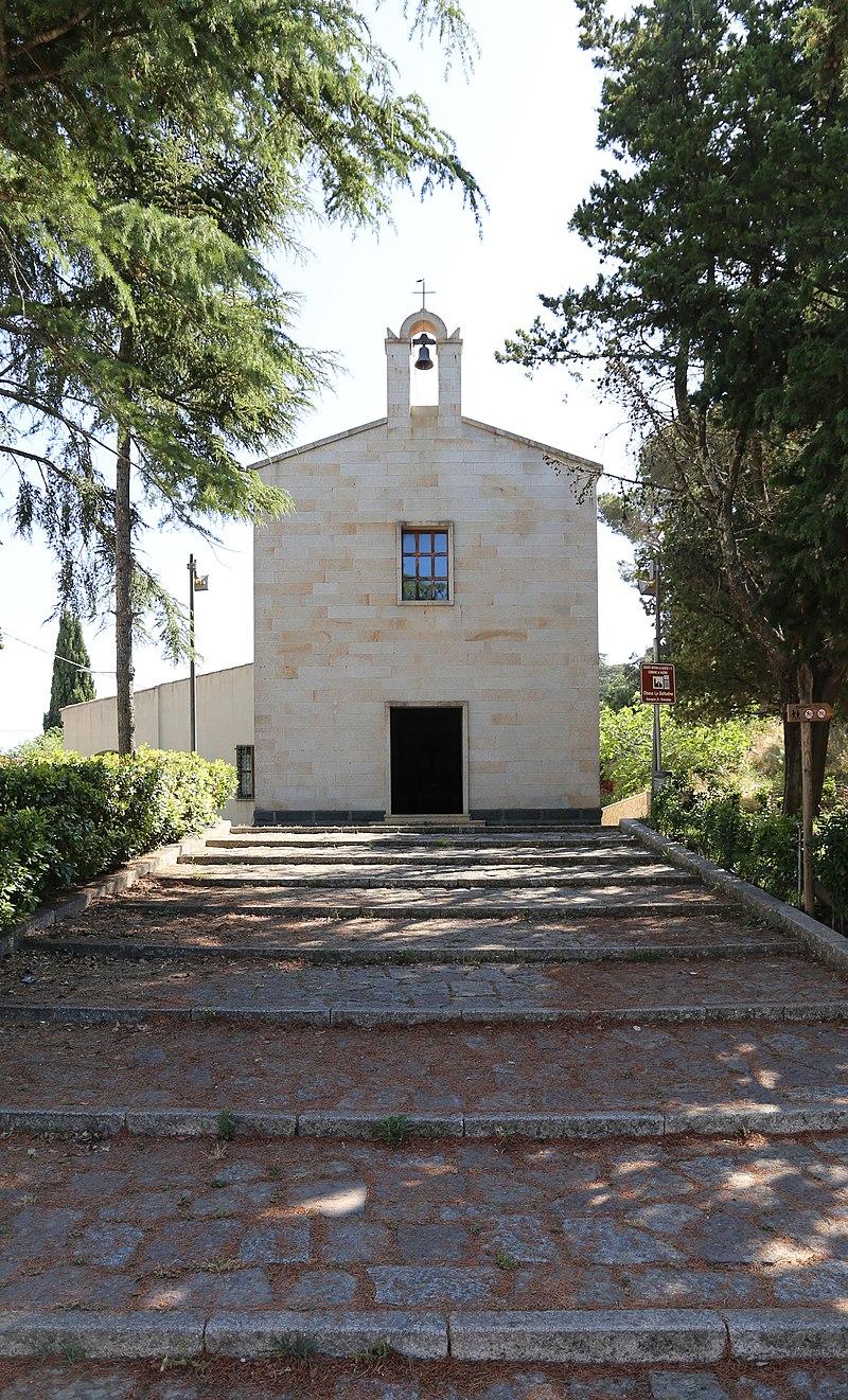Nuoro, chiesa della madonna della solitudine, esterno 02.jpg