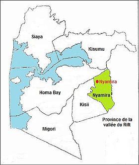 Mbita Nyanza Province Kenya To Lamu Island Map