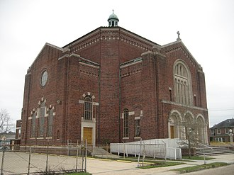 8th Ward of New Orleans - Our Lady Star of the Sea Church in the St. Roch neighborhood is an 8th Ward landmark.