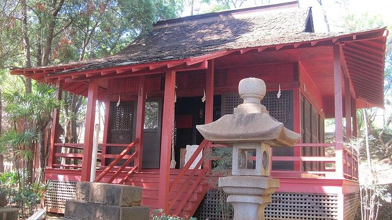 The Wakamiya Inari shrine in the Waipahu Cultural Garden