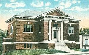 Oakland Public Library (Oakland, Maine) - Image: Oakland Public Library, Oakland, ME