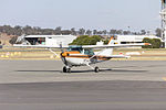 Oberon Aviation Services (VH-DLN) Cessna R172K Hawk XP II taxiing at Wagga Wagga Airport.jpg