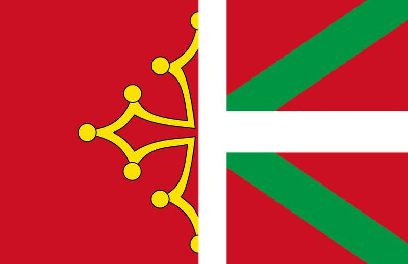 File Occitan Basque Hybrid Flag Jpg Wikimedia Commons