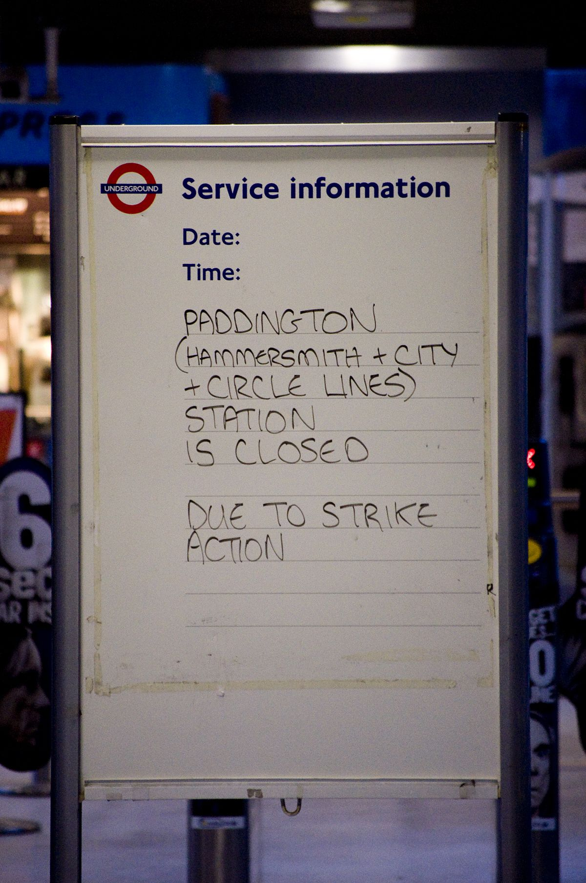 London Underground Strikes Wikipedia