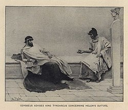 Odysseus advises king Tyndareus concerning Helen's suitors.jpg