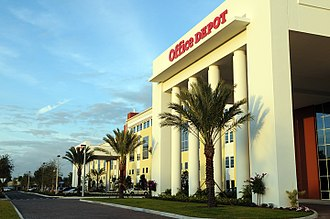 Office Depot - Office Depot's corporate headquarters in Boca Raton, Florida