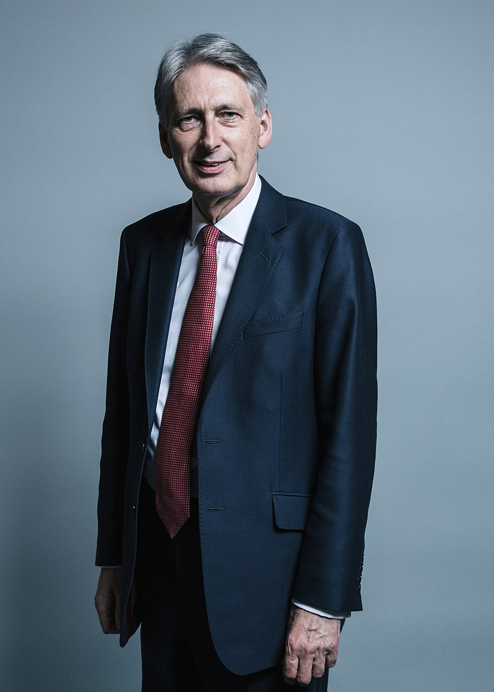 Official portrait of Mr Philip Hammond