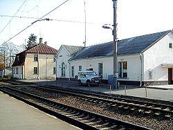 Bahnhof in Olaine