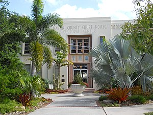 Stuart, Florida - Image: Old Martin County Fla Courthouse 012