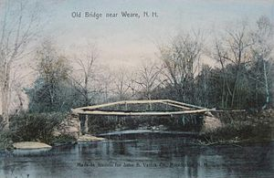 Weare, New Hampshire - Image: Old Bridge near Weare, NH