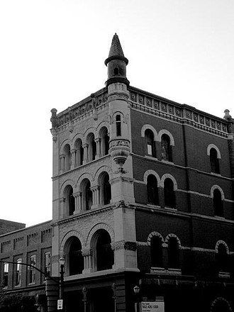 Whiskey Row, Louisville - Image: Old Fort Nelson Building