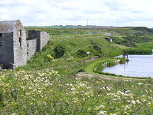 The old watermill and mill pond at Ham, Caithness Old Mill and Pond, Ham.jpg