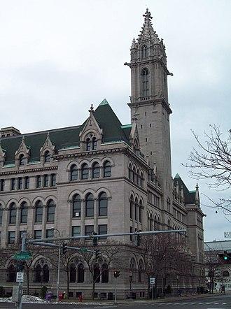 Old Post Office (Buffalo, New York) - Old Post Office, Buffalo NY, December 2009