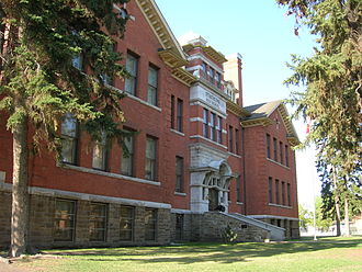 State school - Old Scona High School in Edmonton, Alberta.