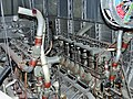 Old plane engine at the Air Museum Paris Le Bourget.jpg