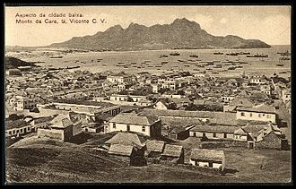 São Vicente, Cape Verde - Mindelo in the early 20th century