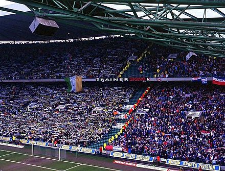 Both sets of fans at an Old Firm match at Celtic Park Oldfirm.jpg
