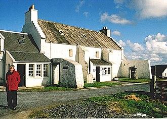 Yell, Shetland - Old Haa Museum, Burravoe