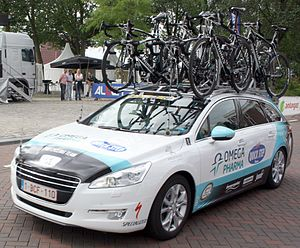 Omega Pharma Quickstep team car.jpg