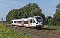 Oostrum Veolia GTW 2-8 357 vertrekt als stoptrein 32258 vanaf station Venray (19727993434).jpg