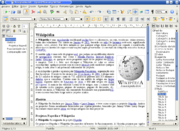 An OpenOffice.org Writer window