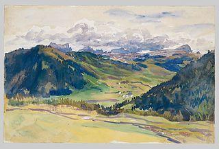 Open Valley, Dolomites