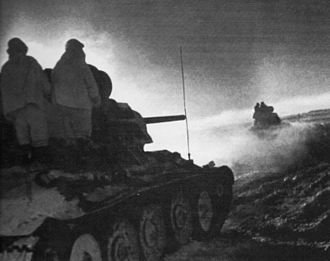 Operation Little Saturn - Soviet forces during Operation Little Saturn in December 1942