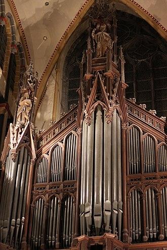 Saint Nicholas' Church, Ghent - Cavaillé-Coll organ, Saint Nicholas' Church, Ghent