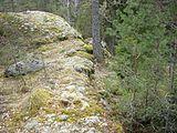 Orlångsjös oldtidsfæstning 2012b.jpg