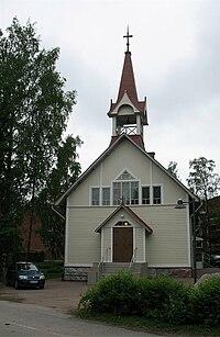 Oulunkyla old church-Helsinki1.jpg