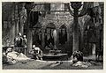 Outer cooling room of a Turkish bath-house. Wood engraving b Wellcome V0020026.jpg