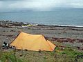 Overnight camp at Trwyn y Penrhyn - geograph.org.uk - 1478577.jpg