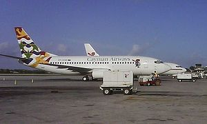 Owen Roberts International Airport - Cayman Airways Boeing 737-300 in Grand Cayman