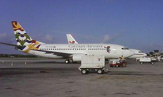 Owen Roberts International Airport - Cayman Airways Boeing 737-300 in Grand Cayman