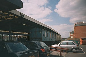 Oxford–Bicester line - Image: Oxford station GUV van mid 2000
