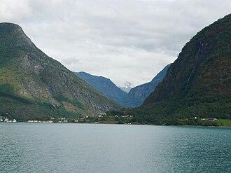 Skjolden - Image: P1000393copy Skjolden