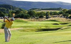 PGA Centenary Course at Gleneagles, Schotland,...