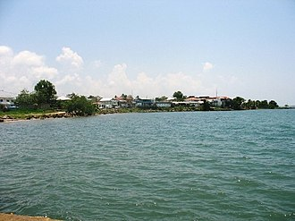 Punta Gorda, Belize - Punta Gorda Town from Fisherman's Pier.