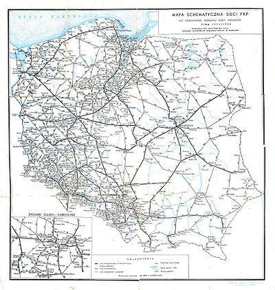 Transport Kolejowy W Polsce Wikipedia Wolna Encyklopedia
