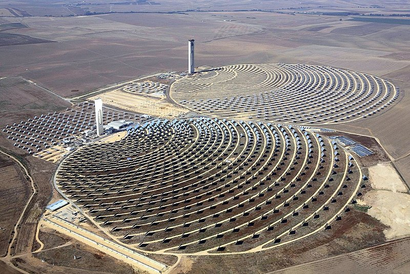 Solar Power Plant, Andalusia, Spain