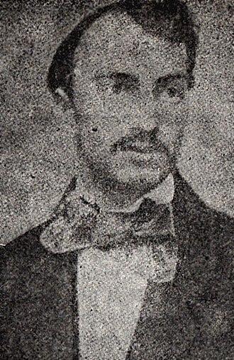 Petre P. Carp - Photograph of Carp, ca. 1870