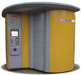 Packstation - DHL Packstation