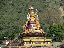 Padmasambhava in Rewalsar, India.JPG