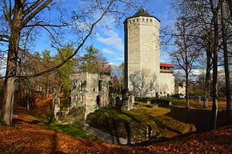 Teutonic Order - Teutonic Order castle in Paide, Estonia