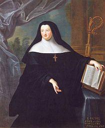 Painting of Louise Adélaïde d'Orléans by Gobert; Abbesse de Chelles.jpg