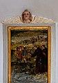 Painting of Saint Antony with fishes N 2 San Antone church Urtijëi.jpg