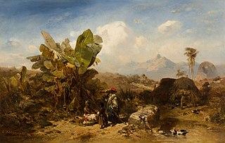 Landscape with Black People