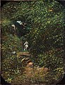 Paisaje con cazador y perro, de José Armet Portanell (Museo del Prado).jpg